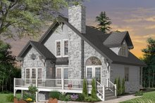 Home Plan - Cottage Exterior - Front Elevation Plan #23-760