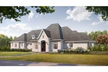 House Plan Design - European Exterior - Front Elevation Plan #3-343