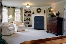 House Design - Country Interior - Master Bedroom Plan #927-654