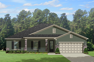 House Design - Traditional Exterior - Front Elevation Plan #1058-118