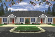Traditional Style House Plan - 3 Beds 2 Baths 2436 Sq/Ft Plan #21-326 Exterior - Front Elevation