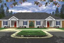 House Design - Traditional Exterior - Front Elevation Plan #21-326