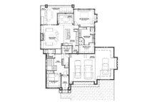 Ranch Floor Plan - Main Floor Plan Plan #1069-6