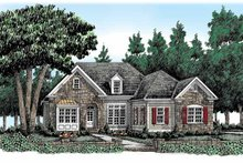 Country Exterior - Front Elevation Plan #927-315