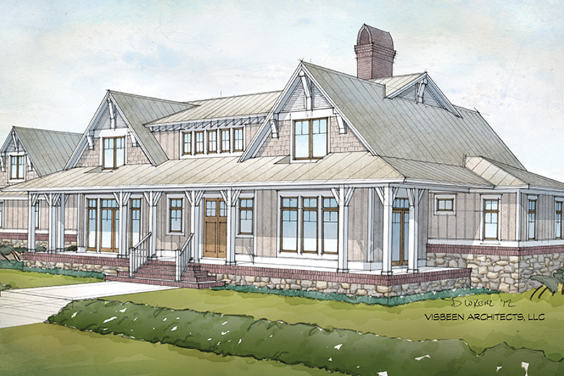 Country Exterior - Front Elevation Plan #928-276 - Houseplans.com