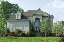Home Plan - Mediterranean Exterior - Front Elevation Plan #453-127