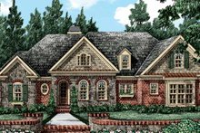 Home Plan - European Exterior - Front Elevation Plan #927-412
