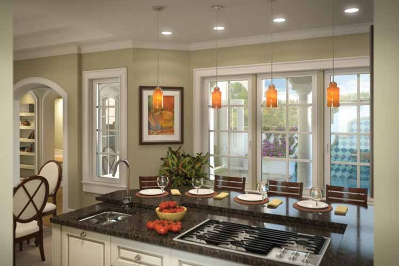 Country Interior - Kitchen Plan #938-6 - Houseplans.com
