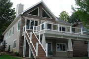 Craftsman Style House Plan - 4 Beds 3 Baths 3226 Sq/Ft Plan #1064-7 Exterior - Rear Elevation