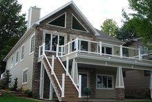 House Plan Design - Craftsman Exterior - Rear Elevation Plan #1064-7