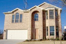 House Plan Design - Traditional Exterior - Front Elevation Plan #84-691