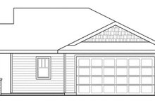 House Plan Design - Traditional Exterior - Other Elevation Plan #124-851