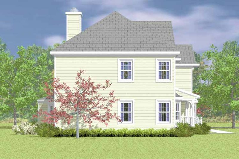 Country Exterior - Other Elevation Plan #72-1100 - Houseplans.com