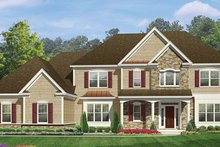 Dream House Plan - Colonial Exterior - Front Elevation Plan #1010-176