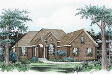 Traditional Exterior - Front Elevation Plan #20-2231