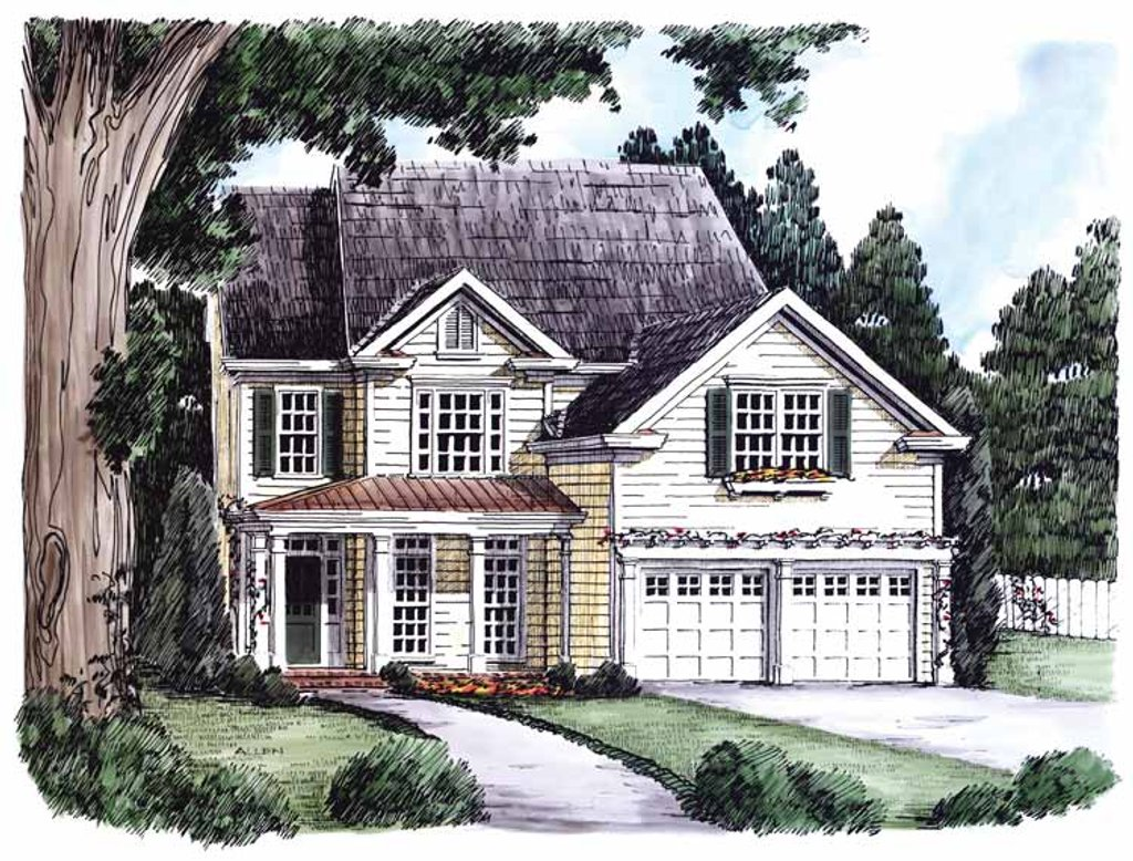 Country Style House Plan 4 Beds 3 Baths 2211 Sq Ft Plan 927 627 Homeplans Com