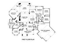 Mountain Lodge craftsman floor plan by David Wiggins 2800 sft