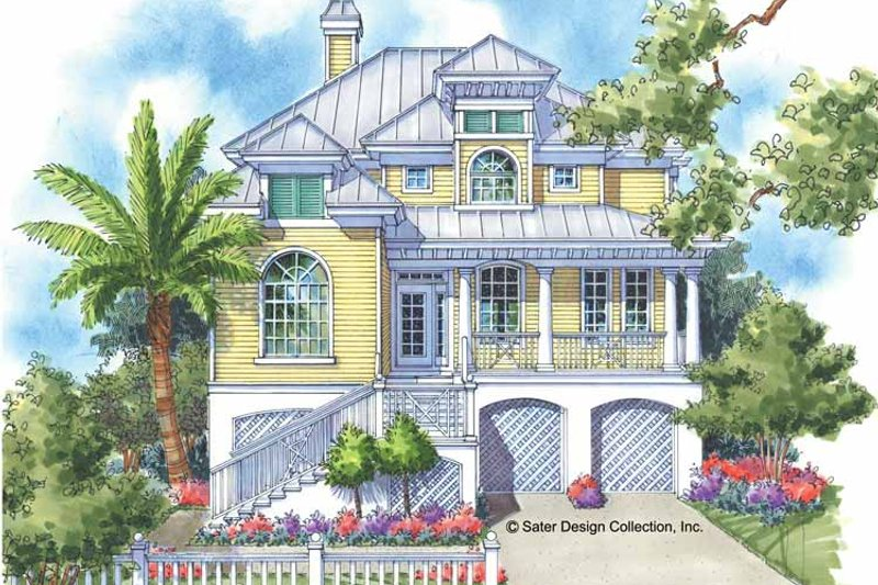 Country Exterior - Front Elevation Plan #930-123 - Houseplans.com