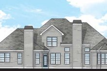 Country Exterior - Rear Elevation Plan #927-781