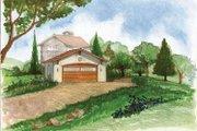 Adobe / Southwestern Style House Plan - 0 Beds 0 Baths 576 Sq/Ft Plan #1042-4