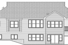 Architectural House Design - Craftsman Exterior - Rear Elevation Plan #928-143
