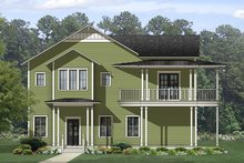 Home Plan - Country Exterior - Front Elevation Plan #1058-149