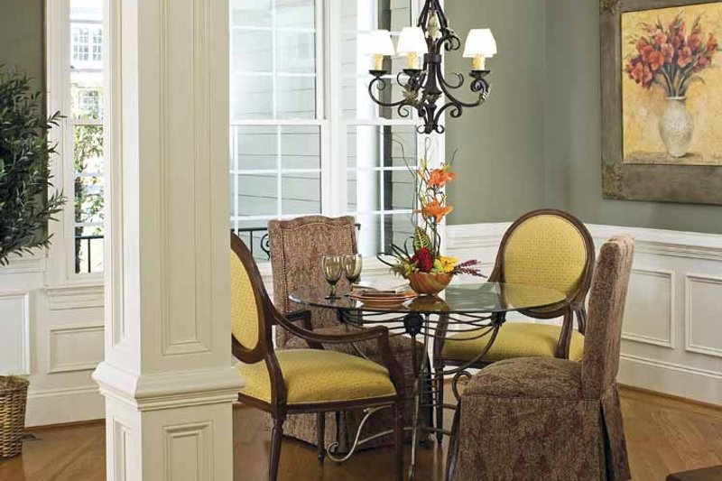 Traditional Interior - Dining Room Plan #929-708 - Houseplans.com