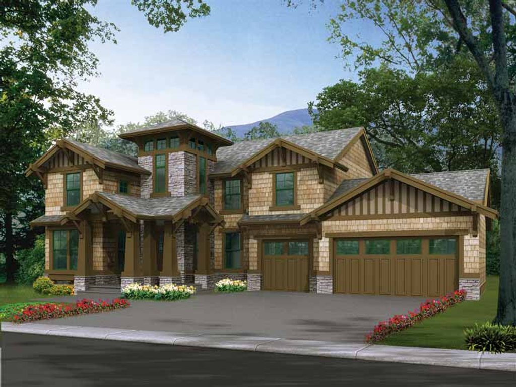 Craftsman style house plan 3 beds 2 5 baths 3035 sq ft for Dream home source canada