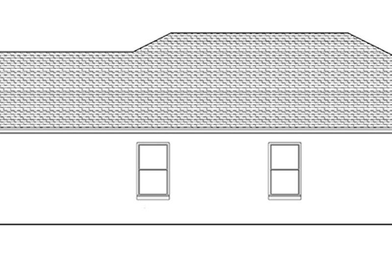 Adobe / Southwestern Exterior - Other Elevation Plan #1058-95 - Houseplans.com