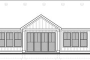 Craftsman Style House Plan - 2 Beds 2 Baths 1419 Sq/Ft Plan #1073-15 Exterior - Rear Elevation