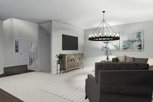 Dream House Plan - Craftsman Interior - Family Room Plan #1060-57