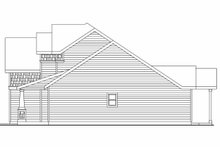 House Plan Design - Craftsman Exterior - Other Elevation Plan #124-564