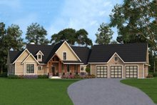 House Design - Country style home, Front Elevation