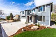 Contemporary Style House Plan - 3 Beds 2.5 Baths 2543 Sq/Ft Plan #1066-4 Exterior - Front Elevation