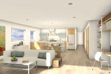 House Blueprint - Modern Interior - Family Room Plan #497-59