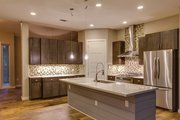 Contemporary Style House Plan - 4 Beds 3 Baths 2400 Sq/Ft Plan #935-7 Interior - Kitchen