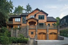 Craftsman Exterior - Front Elevation Plan #48-364
