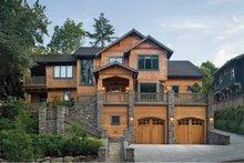 Dream House Plan - Craftsman Exterior - Front Elevation Plan #48-364