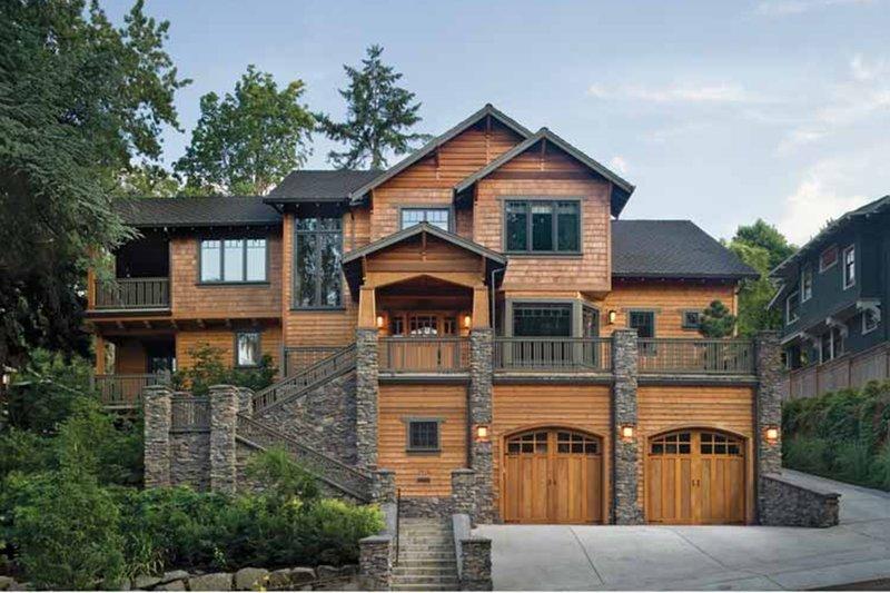 House Plan Design - Craftsman Exterior - Front Elevation Plan #48-364