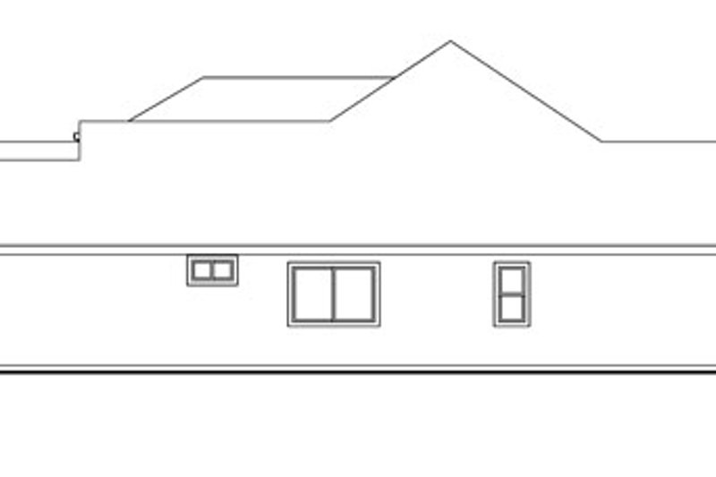 Traditional Exterior - Other Elevation Plan #124-774 - Houseplans.com