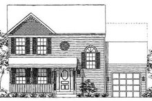 Home Plan - Farmhouse Exterior - Front Elevation Plan #320-143