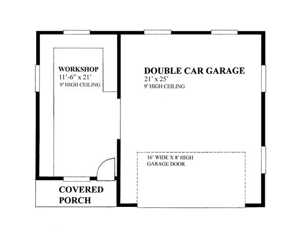 Traditional Floor Plan - Main Floor Plan Plan #118-179