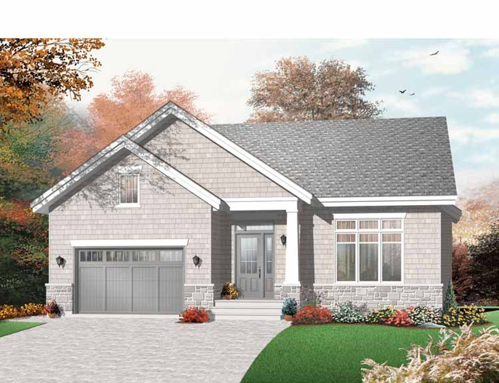 Craftsman style house plan 2 beds 1 baths 1279 sq ft for Www eplans com