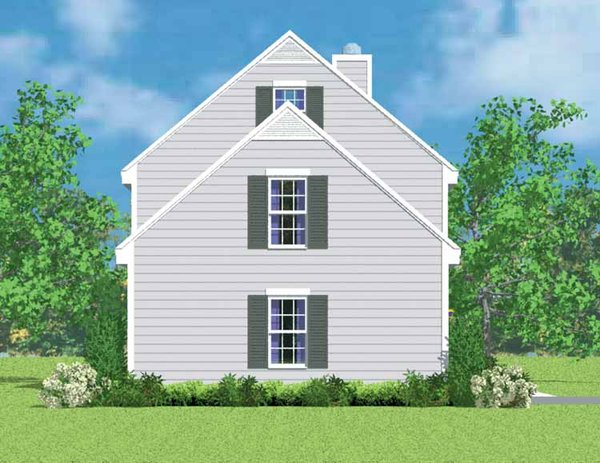 Colonial Floor Plan - Other Floor Plan Plan #72-1087