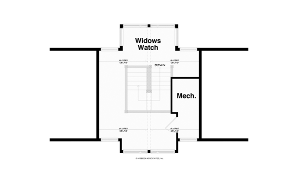 Architectural House Design - Traditional Floor Plan - Other Floor Plan #928-247