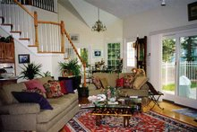 House Design - Country Interior - Family Room Plan #314-184