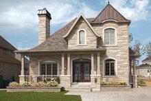 House Plan Design - European Exterior - Front Elevation Plan #23-2547