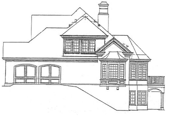 Colonial Floor Plan - Other Floor Plan Plan #429-293