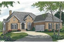Traditional Exterior - Front Elevation Plan #453-497