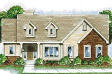 Traditional Exterior - Front Elevation Plan #20-1381